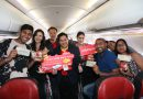 """สายการบินไทยเวียตเจ็ท ร่วมกับ เมเจอร์ ซีนีเพล็กซ์ กรุ้ป จัดกิจกรรมเซอร์ไพรส์บนเที่ยวบินภายใต้แคมเปญ """"ENJOY MOVIE, ENJOY FLYING"""""""