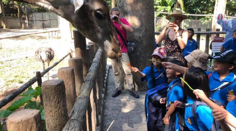 กิจกรรมนำนักเรียนเข้าเรียนรู้ในสวนสัตว์ ประจำปี 2563 ต่อเนื่องเป็นปีที่ 18