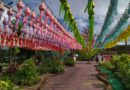 """ททท.สำนักงานลำปางนำสื่อมวลชนเยือนชุมชนยลวิถีการทำโคมลำพูน เตรียมความพร้อมจัด """"เทศกาลโคมแสนดวง"""""""